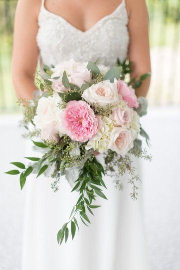 White O hara roses