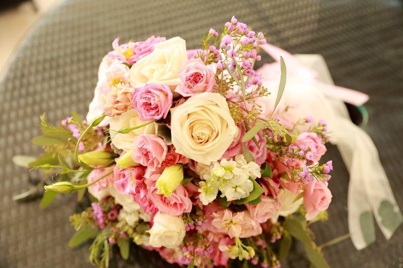 A delicate spring bouquet