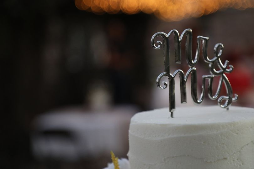 Cake @ Alex/Tori's Wedding