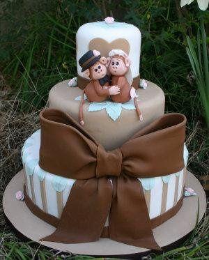 Tmx 1238647735769 MonkeyLove1 Cedar Park wedding cake