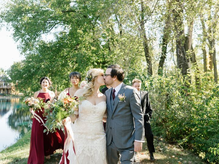 Tmx 1511981907263 Fall Wedding Party Outside Fishers, IN wedding venue
