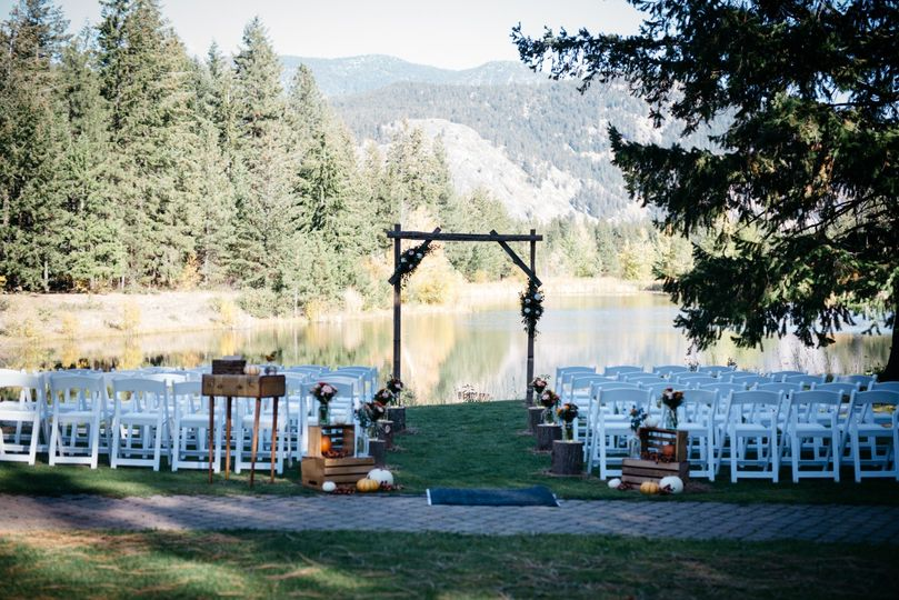 Outdoor ceremony option - Melissa Days Photography
