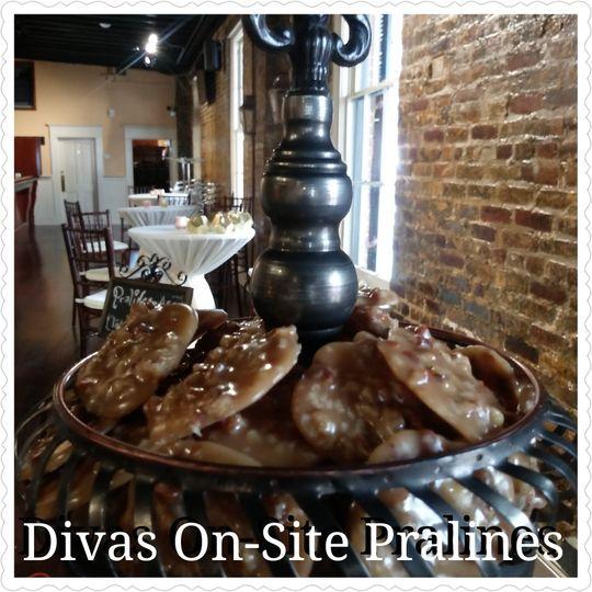 Original pralines made on-site