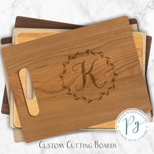 Customized cutting boards