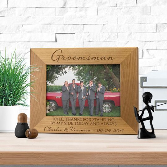 Custom bridal party frame