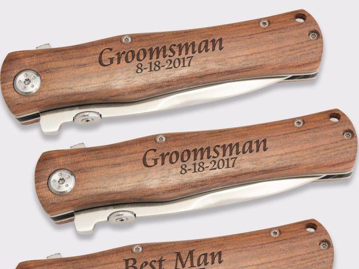 Tmx Knife Jds Best Man Group Shot 51 1156649 159502326895591 Allen, TX wedding favor