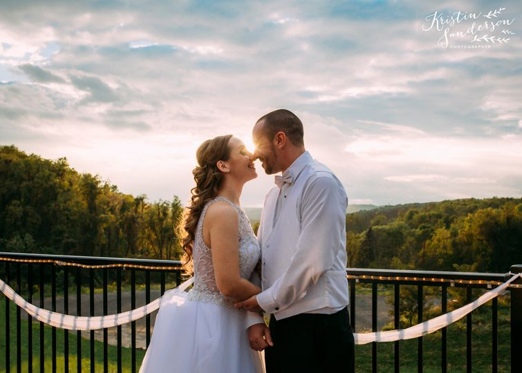 Newlyweds and the view