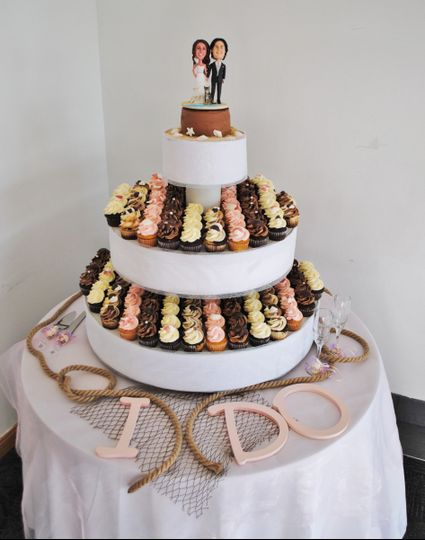 The Blustering Baker Wedding Cake Jacksonville Nc