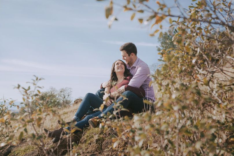 Engagement session Chico Upper Bidwell Park