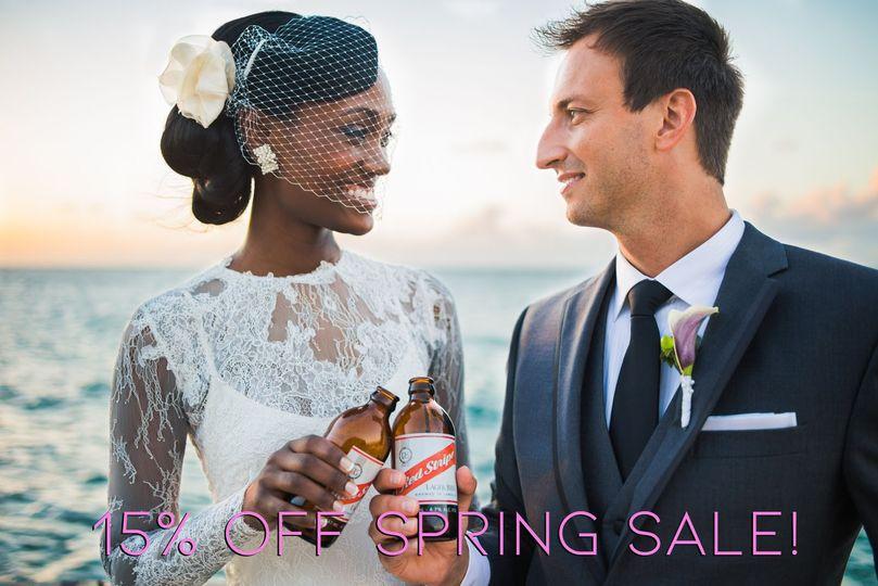 15% OFF Spring Sale!
