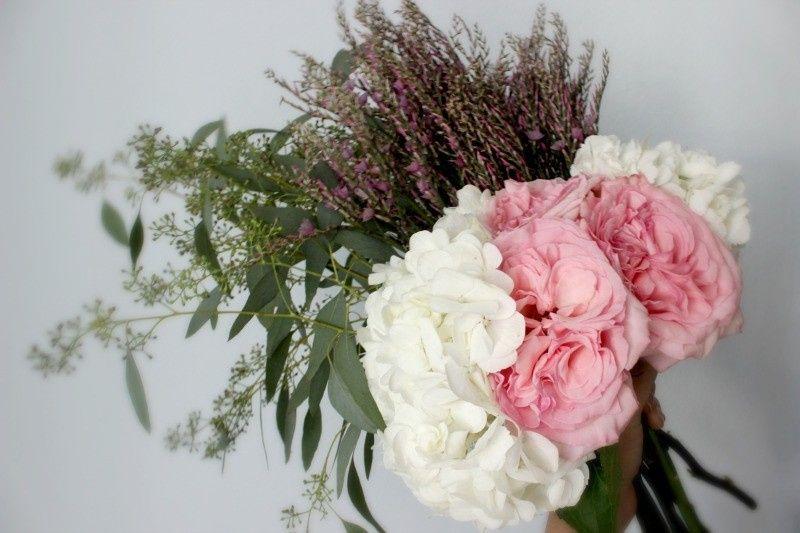 wildy arranged bouquet