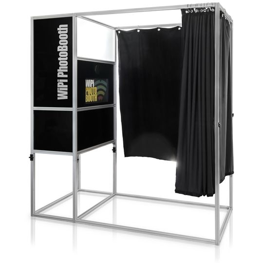 Enclosed booth