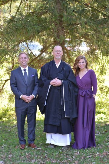 Post ceremony photo