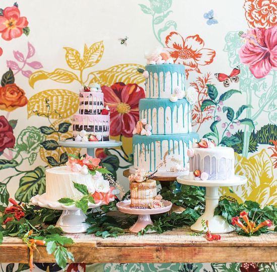Wedding cake variants
