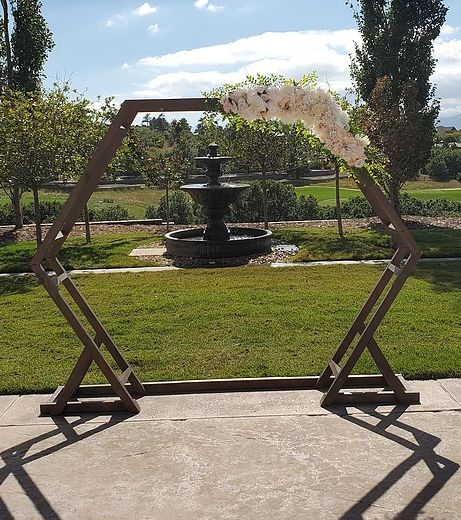 Tmx Double Hexagon Arch With Swag 51 1054749 1572996692 Littleton, CO wedding rental