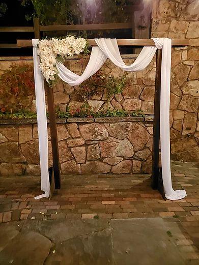 Elegant traditional arch