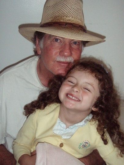 Michael Larrain and daughter Wilder Kathleen