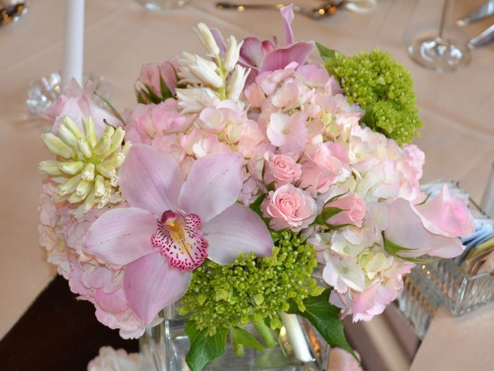 Tmx 1366228414950 Pinkcenterpiece Shrewsbury, Massachusetts wedding florist