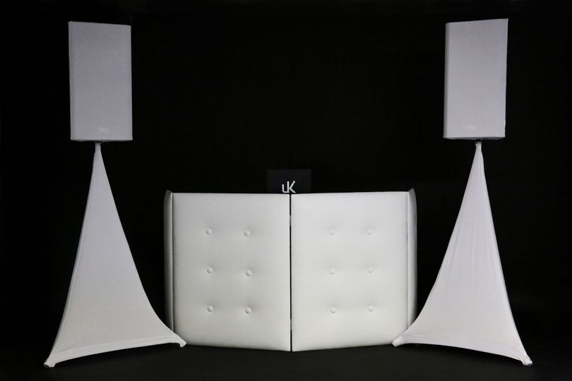 Standard DJ booth setup