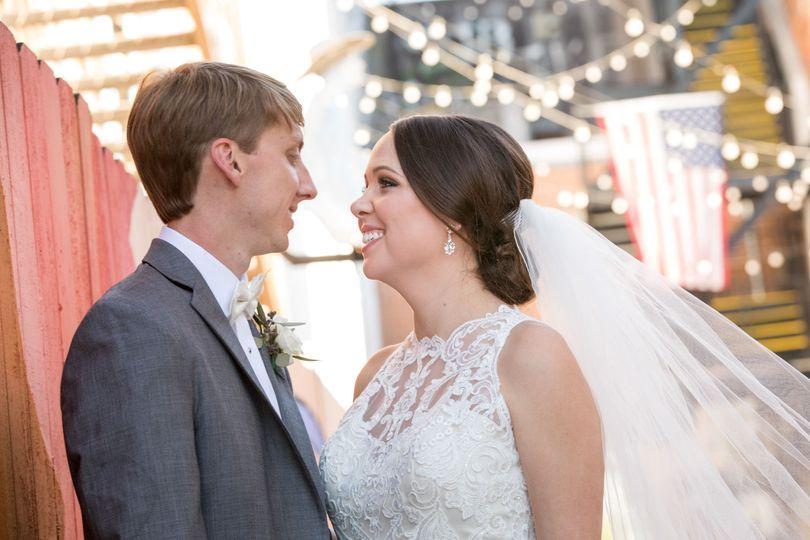 Joel & Lizzy Cottrell wedding day.