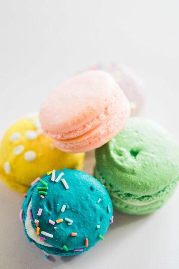 macaron food photography 1