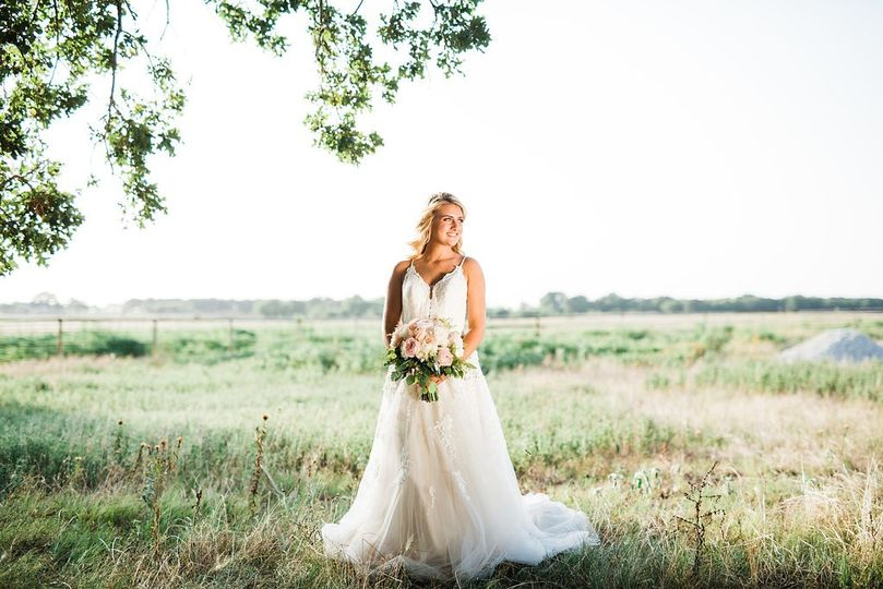 Bride in Field | LCP