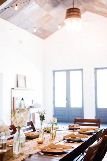 Venue interior foyer