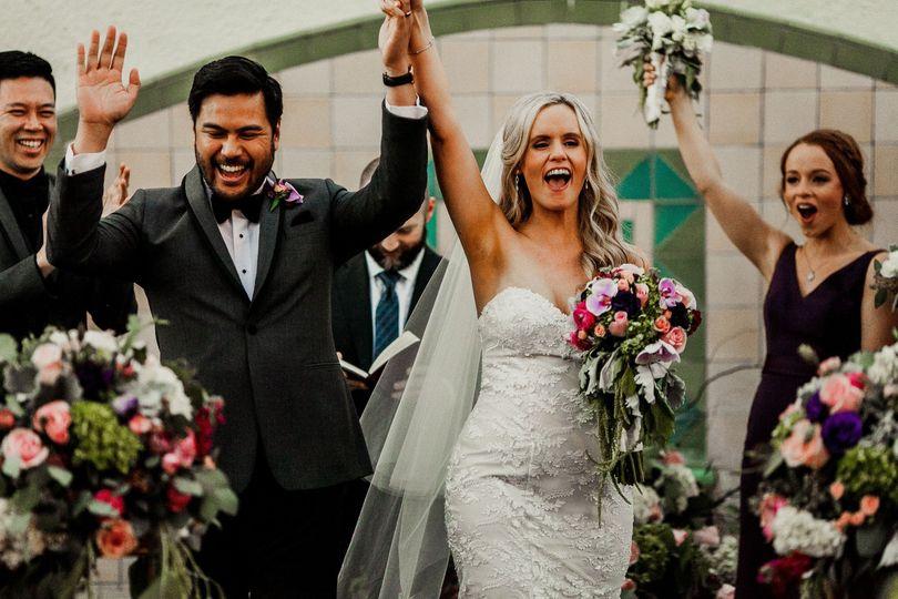 Cheers to Mrs & Mr!!