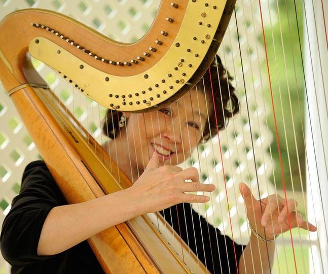 Harpist Xiao Lei Salovara