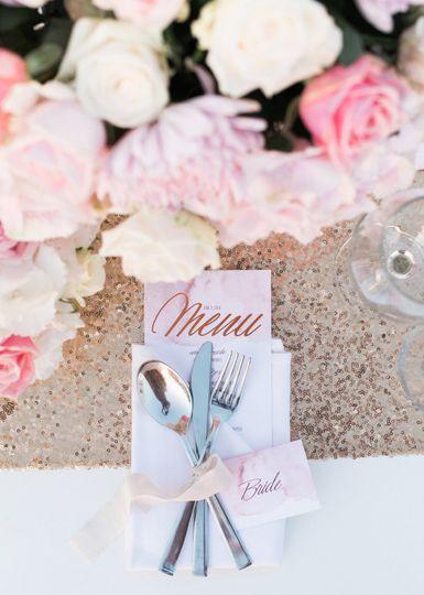 Dusty pink wedding theme