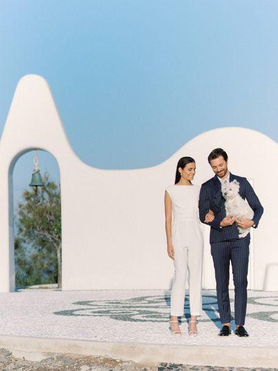 Greek Chapel Wedding