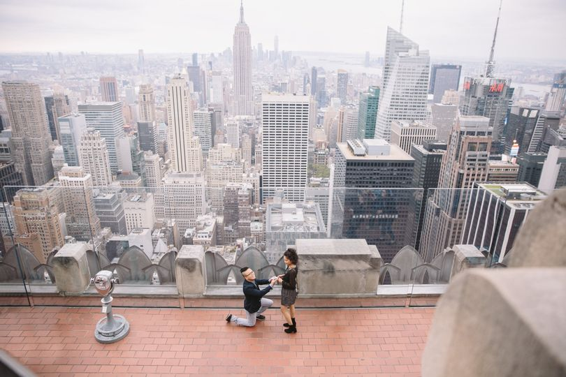 Secret Proposal Top of the Rock