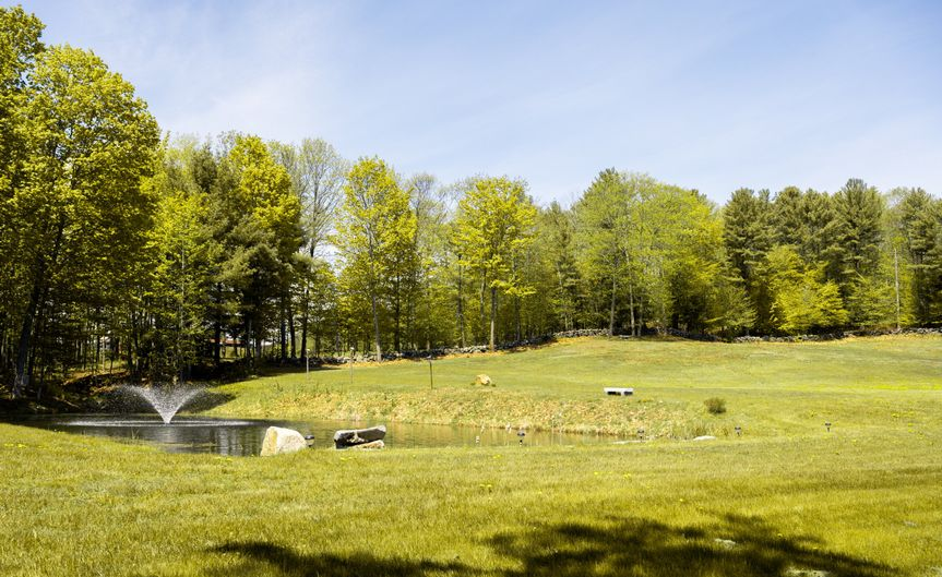 Ponds and Ceremony Sites
