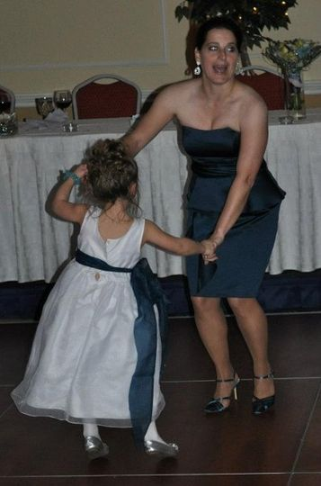 Dancing with a young guest