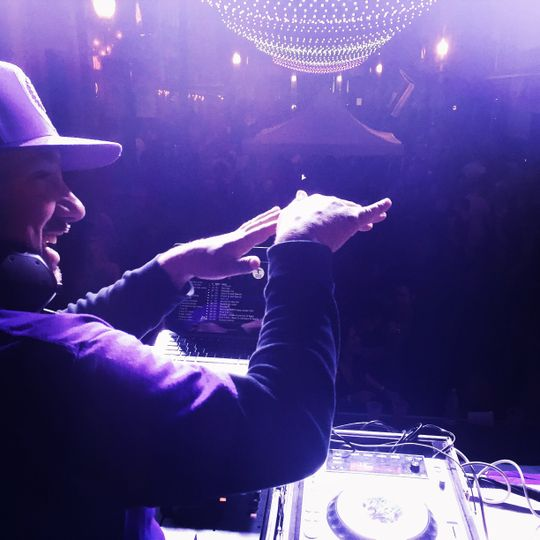 DJing an event