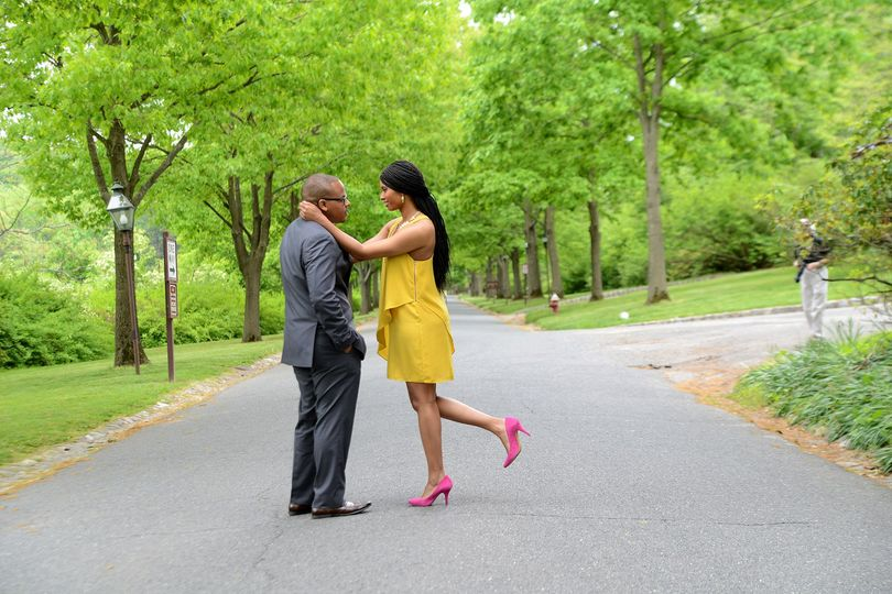 Engagement session in New Jersey