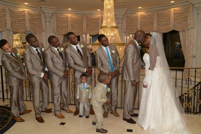 Wedding group pic
