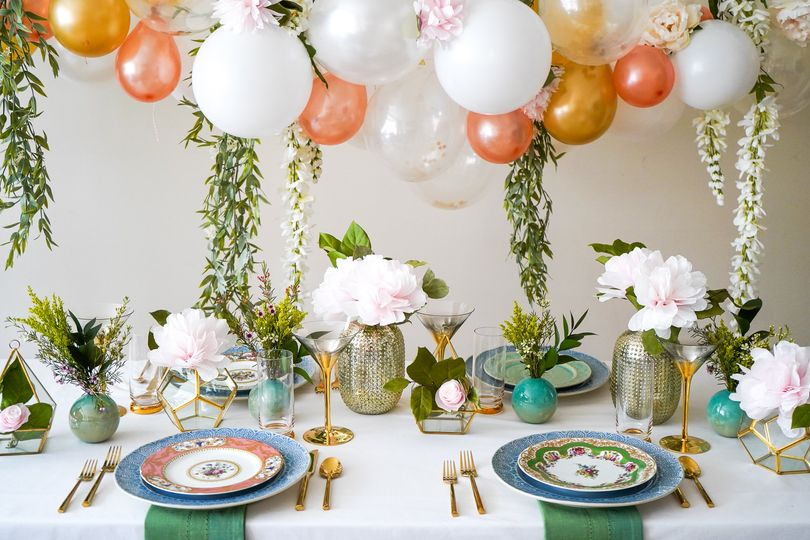 Fun tablescape