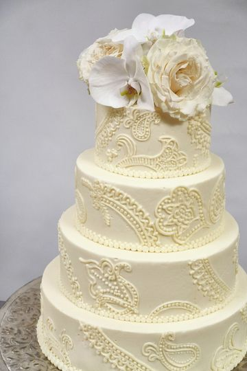 Buttercream embroidery