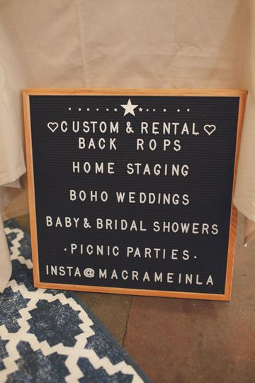 Signage for your event