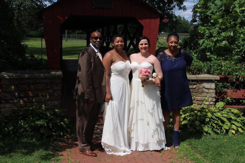 Breanne & Larena - Outdoor ceremony