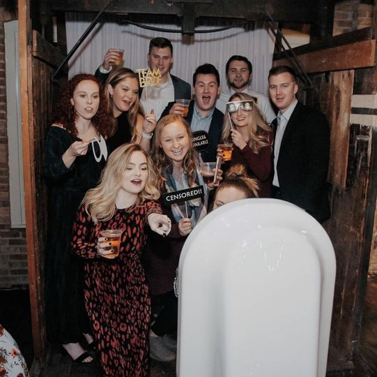 Traditional photobooth