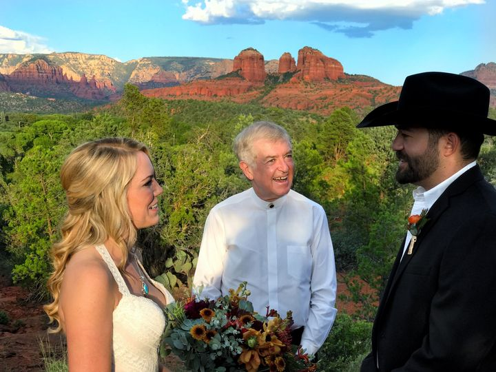 September sunset elopement. Sun Cliff at Red Rock Ranch. The perfect location for a Cathedral Rock...