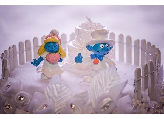 Tmx 1286570097734 Smurfscaketopper East Elmhurst wedding favor
