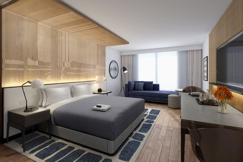 Just-Right King Guestroom