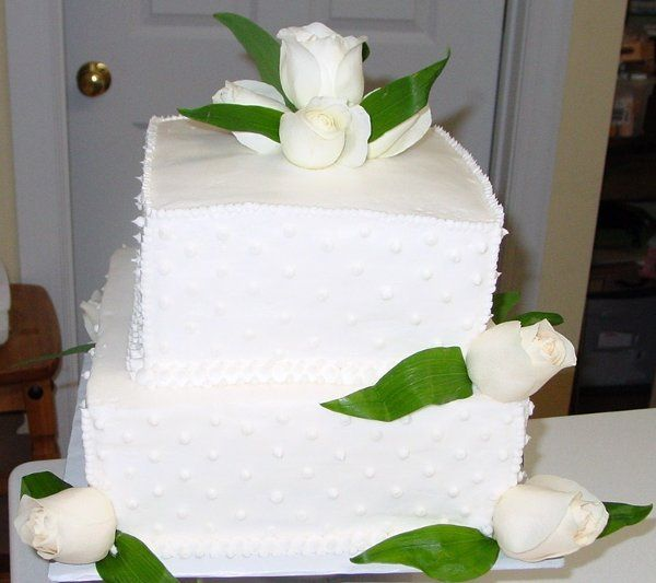 Tmx 1219972062691 WhiteRoses High Point wedding cake