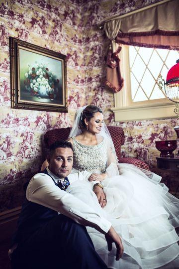 Bride + Groom portraits
