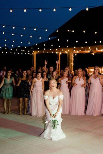 Fairy lights - dance floor