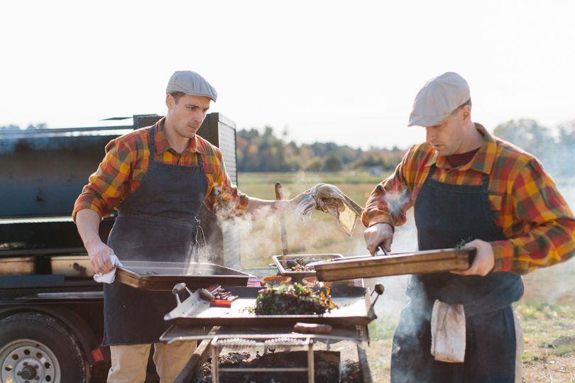 Wonderful wood-fired cuisine