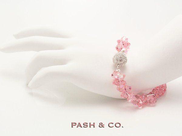 Tmx 1201476992699 PinkBreastCancerSwarovskiStarEffect%26Watermark Middletown wedding jewelry